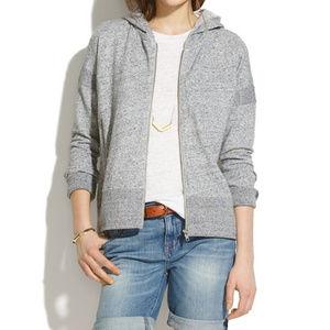 Madewell   Surfbreeze Zip Up Hoodie Sweatshirt XS